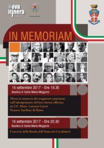 In memoriam - 16.09.2017